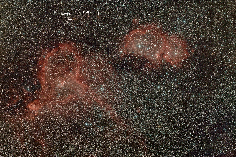 Maffei 1 Galaxy Galaxies Maffei i And ii