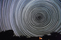 startrails polaris