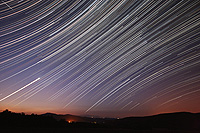 startrails orion