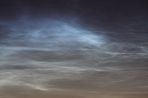 noctilucent clouds